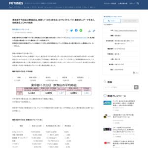 東京都千代田区の飲食店アルバイト最新求人データ