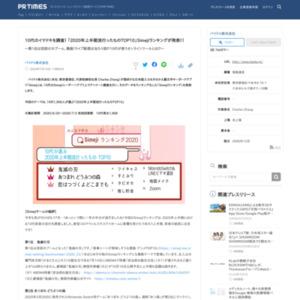 「2020年上半期流行ったものTOP10」Simejiランキングが発表!!