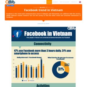 ベトナムFacebook利用調査