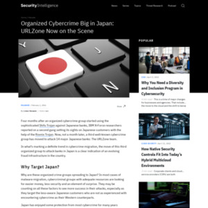 ORGANIZED CYBERCRIME BIG IN JAPAN: URLZONE NOW ON THE SCENE