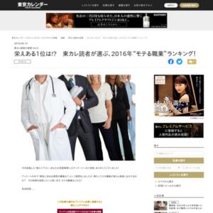 """栄えある1位は!?東カレ読者が選ぶ、2016年""""モテる職業""""ランキング!"""