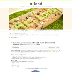 料理・食×Instagram 「クッキングラマー」ユーザーアンケート調査