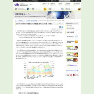 2013年の日本向け中国産たまねぎ輸出量、前年比3.8%減 (中国)
