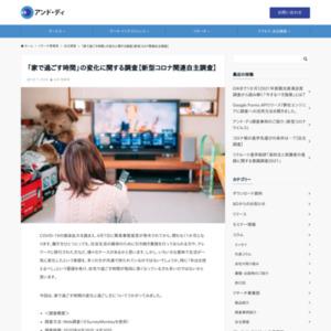 「家で過ごす時間」の変化に関する調査