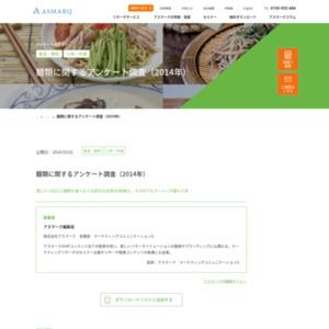 麺類に関するアンケート