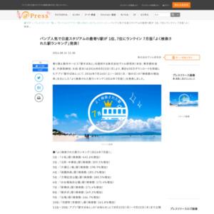 2016年7月版「よく検索された駅ランキング」