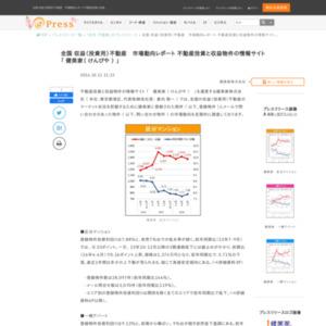 全国 収益(投資用)不動産 市場動向レポート