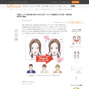 """""""婚活レンズ""""で顔の魅力度が140%上昇!? カラコン装着時における第一印象を脳科学的に調査 ネットランドジャパン"""