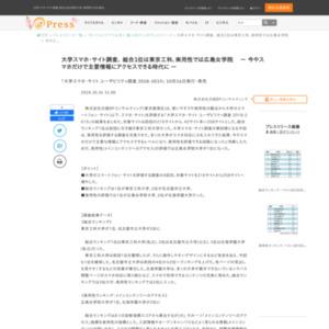 大学スマホ・サイト ユーザビリティ調査 2018-2019