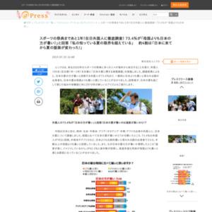 日本の夏に関する実態調査