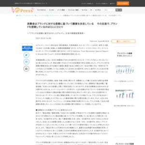 「ブランドは信頼に値するのか」エデルマン、日本の調査結果発表