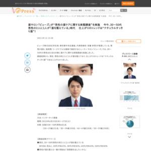 男性の眉ケアに関する実態調査