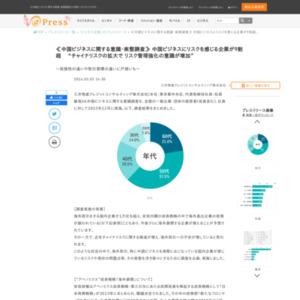 中国ビジネスに関する意識・実態調査