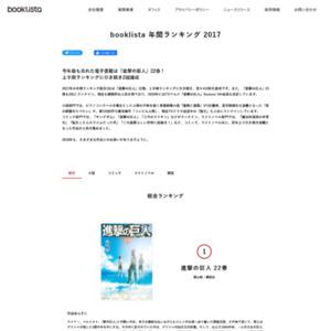 booklista 年間ランキング 2017