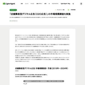 「店舗集客型デジタル広告(O2O広告)」の市場規模調査を実施