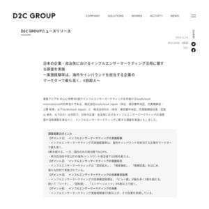 日本の企業・自治体におけるインフルエンサーマーケティング活用に関する調査