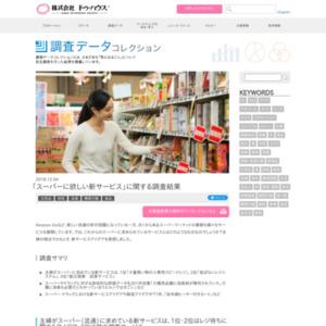 「スーパーに欲しい新サービス」に関する調査結果