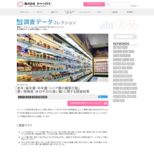「若年/盛年層・中年層・シニア層の購買行動」に関する調査結果を発表