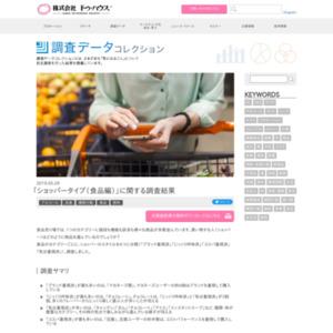 「ショッパータイプ(食品編)」に関する調査結果