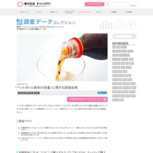 「ペットボトル飲料の容量」に関する調査結果