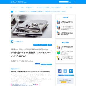 ニュースキュレーションアプリに関するアンケート