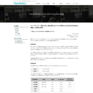 フィードテイラー、国内の全上場企業Webサイトの常時SSL化対応状況を独自に調査