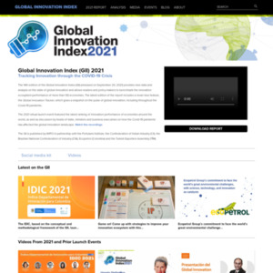 Global Innovation Index 2016 REPORT