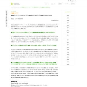 博報堂DYメディアパートナーズ メディア環境研究所「メディア定点調査2019」時系列分析