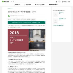2018 HOUZZ キッチン市場調査(日本)