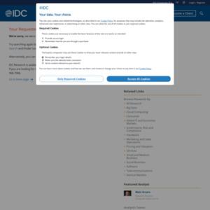 国内産業分野別/企業規模別 IT支出動向および予測を発表