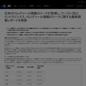 イントラリンクスM&A情報リークスレポート 2017