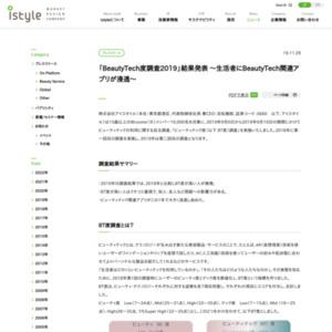 「BeautyTech度調査2019」結果発表