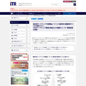 マーケティング関連の製品および施策のユーザー調査