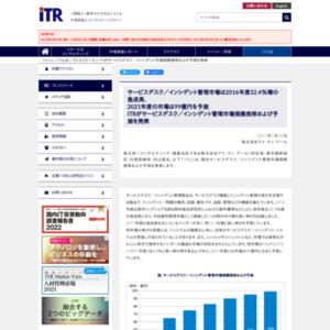 サービスデスク/インシデント管理市場規模推移および予測