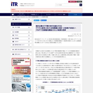 ITRが「IT投資動向調査2020」の結果を発表