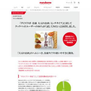 「クックパッド」のユーザー対象「ダイズラボ 冷凍 大豆のお肉 ミンチタイプ」の使用意向