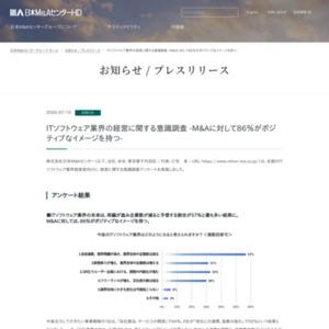 ITソフトウェア業界の経営に関する意識調査