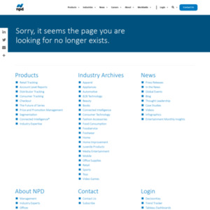 U.S. Consumer Technology Retail Sales Decline 2 Percent in 2012, According to The NPD
