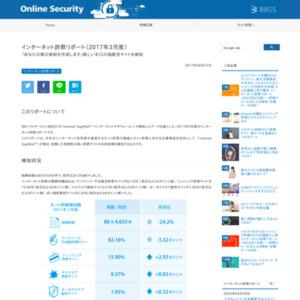 インターネット詐欺リポート(2017年3月度)