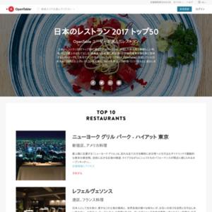 日本のレストラン 2017 トップ50