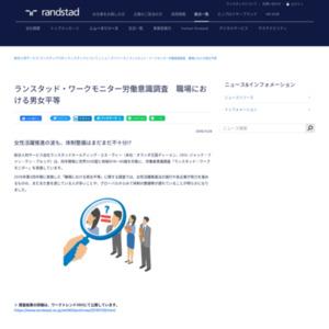 ランスタッド・ワークモニター労働意識調査 職場における男女平等