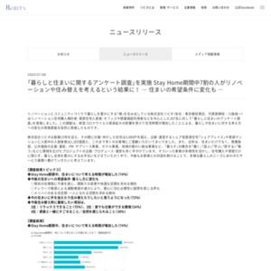 「暮らしと住まいに関するアンケート調査」