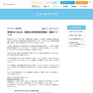 第5回 M-VALUE(雑誌広告効果測定調査)