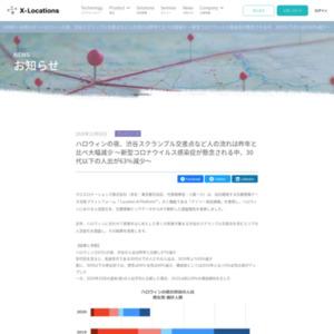 ハロウィンの夜、渋谷スクランブル交差点など人の流れは昨年と比べ大幅減少