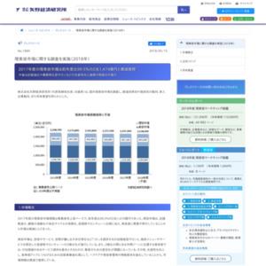 理美容市場(2017年度)