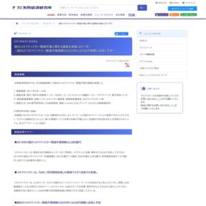 国内コネクテッドカー関連市場に関する調査を実施(2017年)