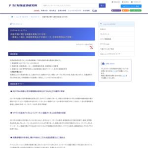 呉服市場に関する調査を実施(2018年)