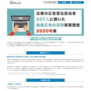 企業の広告宣伝担当者207人に聞いた 動画広告の活用実態調査2020年版