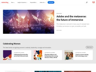 Adobe Systems(アドビ システムズ)のWordPress(ワードプレス)活用事例