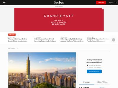 Forbes (フォーブス)のWordPress (ワードプレス)活用事例